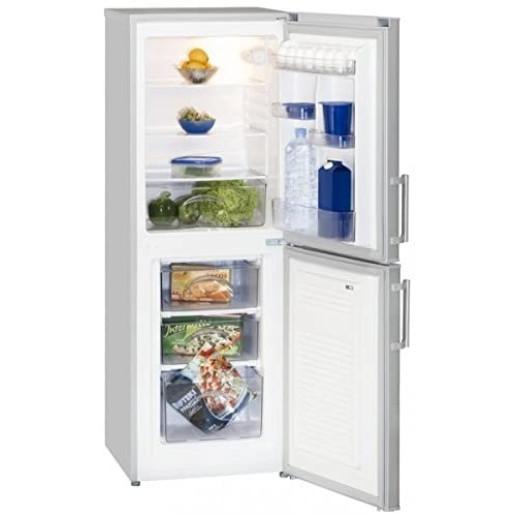 Combina frigorifica Exquisit KGC232/60-4.4, 152 l, Clasa A++,  Silver